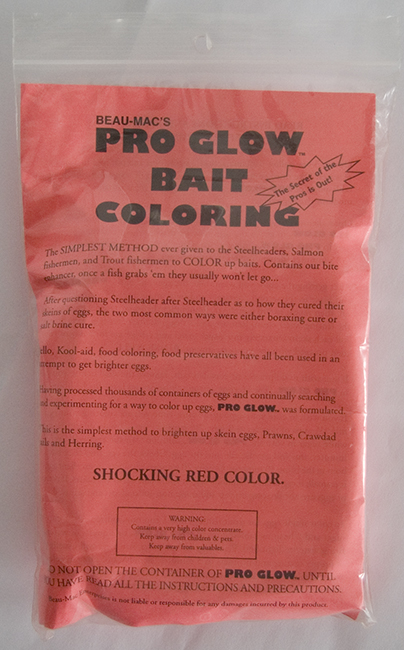 Prow Glow Bait Coloring - Red - 10oz.